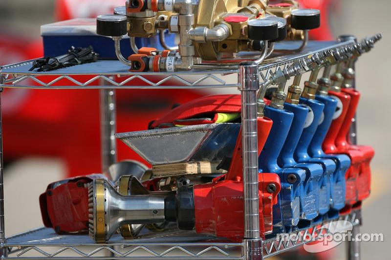 Un fusil à air comprimé Ferrari