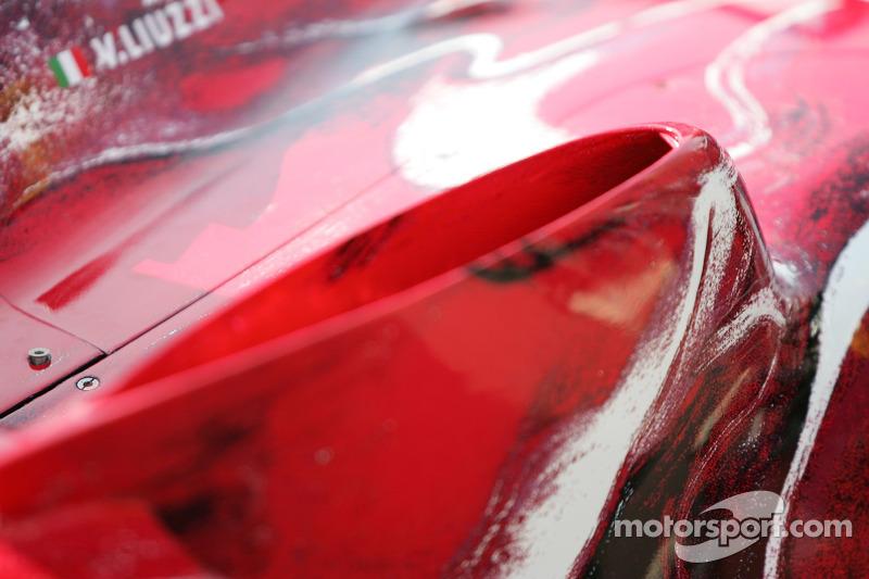 Détail de la Toro Rosso