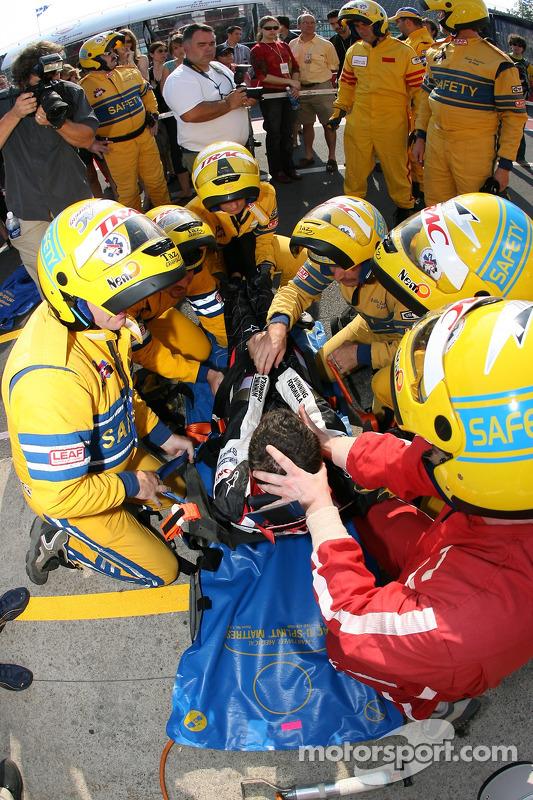 Séance pour l'équipe de secours