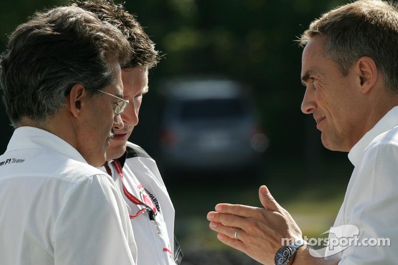 Discussion entre Dr. Mario Theissen et Nick Fry