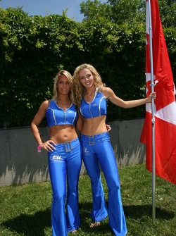 Flag girls