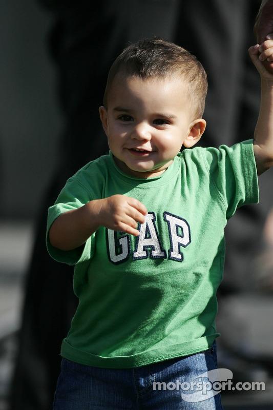 Sebastian Montoya le fils de Juan Pablo Montoya