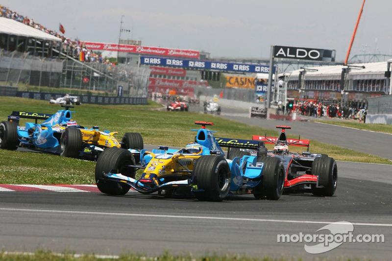 Départ: Fernando Alonso devance Kimi Raikkonen