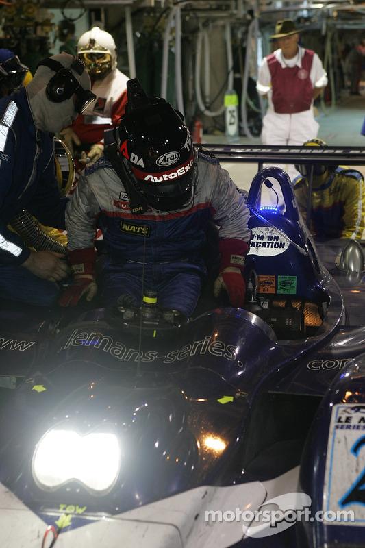 #24 Un changement de pilote de Binnie Motorsports