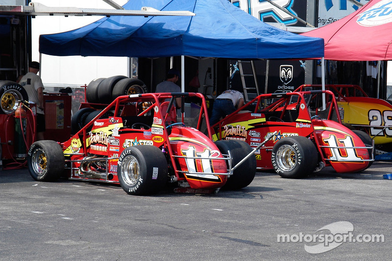 Walker-Guiducci Racing Beasts, conduites par Dave Steele et Dave Darlet