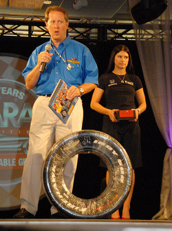 Mike King and Danica Patrick