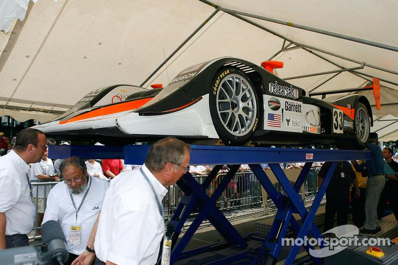 Intersport Racing Lola B05/40 AER à la deuxième étape