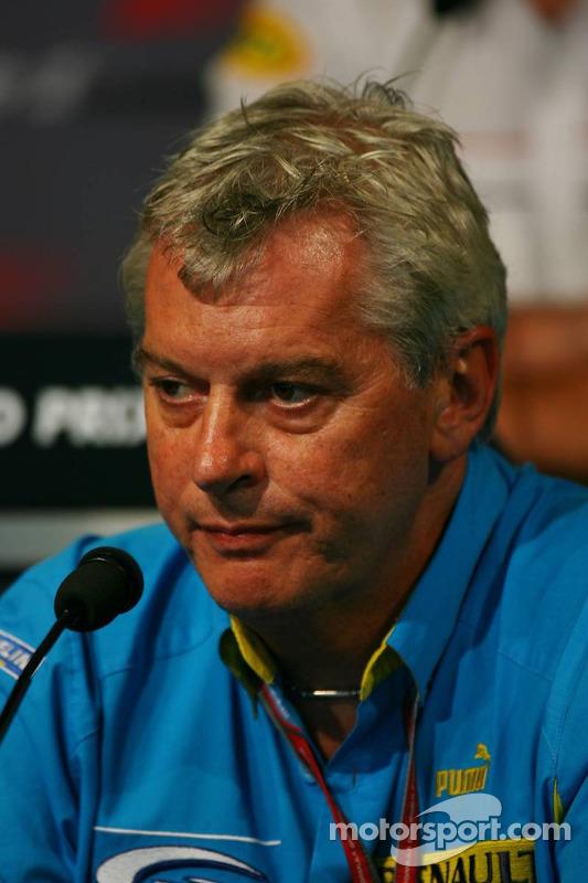 Conférence de presse de la FIA le vendredi : Pat Symonds
