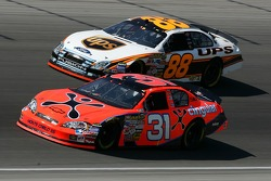 Jeff Burton and Dale Jarrett