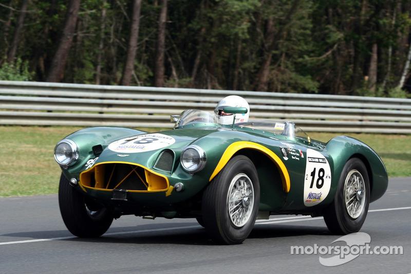 18 Aston Martin Db3s 1953 At Le Mans Classic