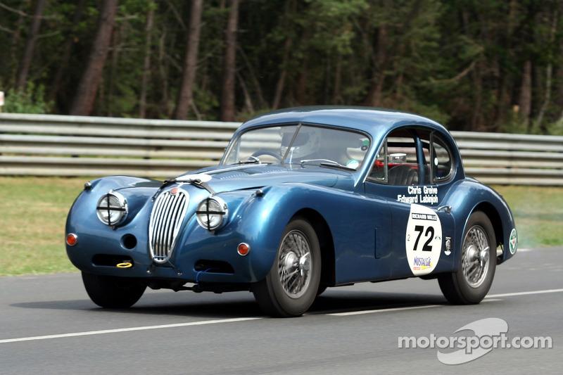#72 Jaguar XK 140 1955