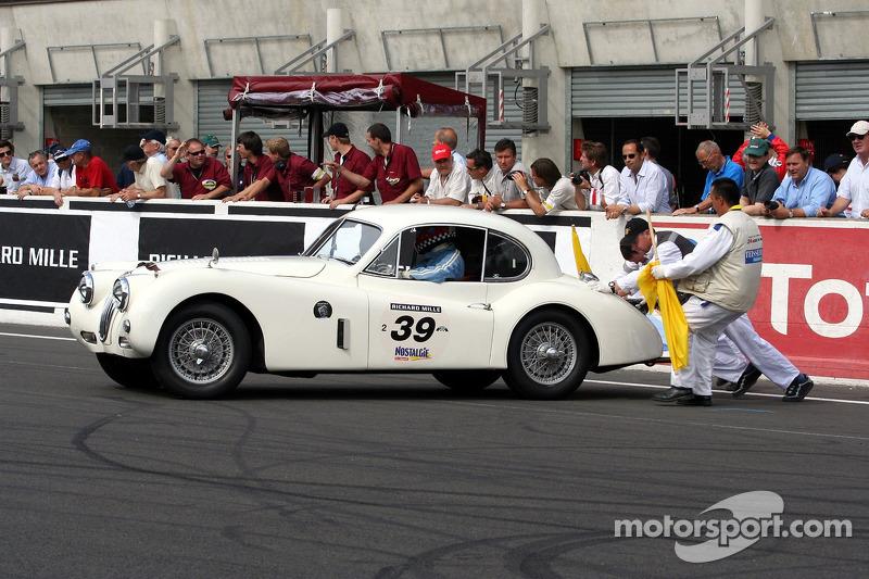 #39 Jaguar XK 140 1955