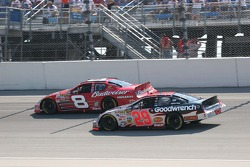 Dale Earnhardt Jr. and Kevin Harvick