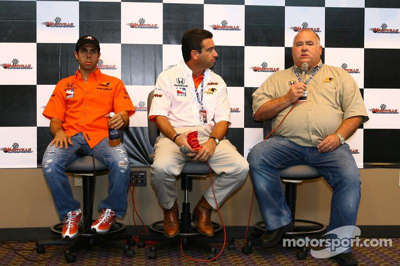 Conférence de presse de Panther Racing