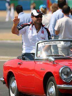 Parade des pilotes : Rubens Barrichello