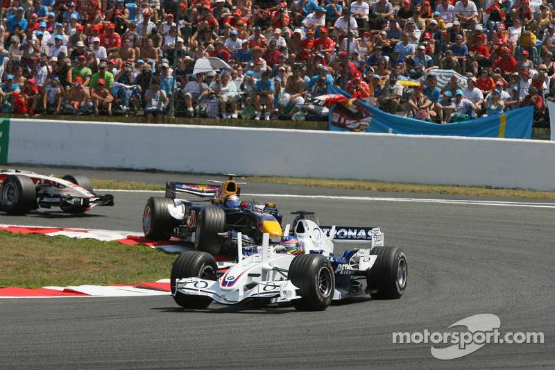 Jacques Villeneuve et Christian Klien