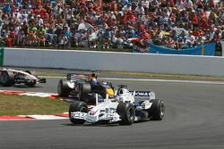 Jacques Villeneuve and Christian Klien