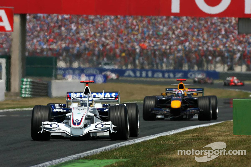 Nick Heidfeld devance David Coulthard