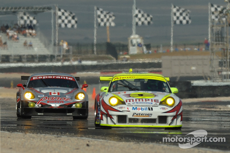 #51 Multimatic Motorsports Team Panoz Panoz Esperante GTLM: Gunnar Jeannette, Tom Milner suivent #31