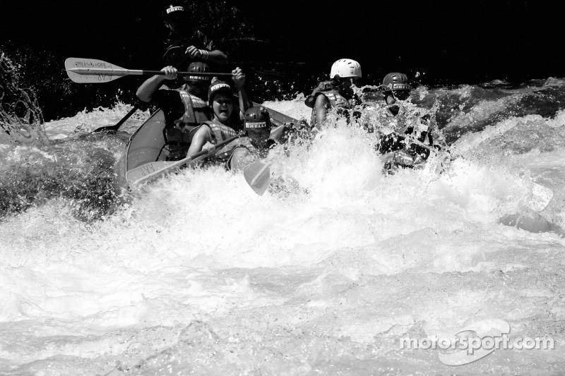 Rafting avec les pilotes de l'ALMS