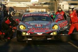 Pitstop for #51 Multimatic Motorsports Team Panoz Panoz Esperante GTLM: Gunnar Jeannette, Tom Milner