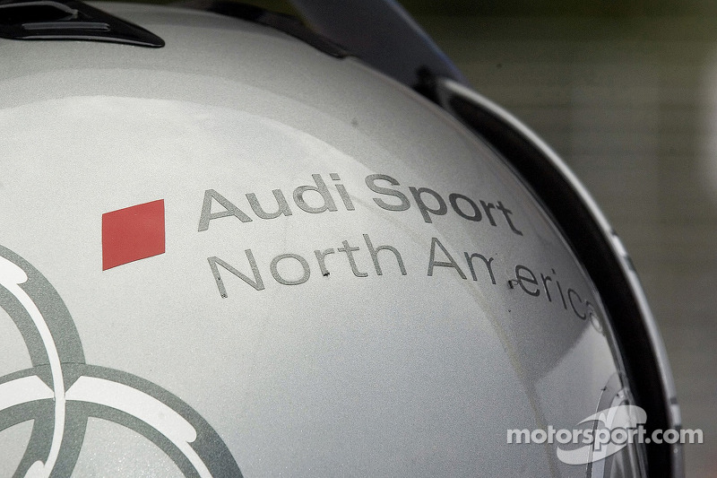 Casque de Audi Sport North America