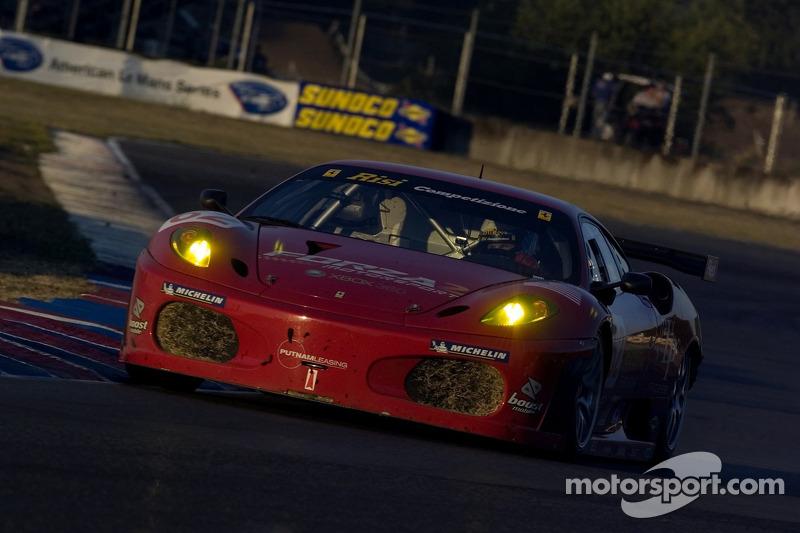 #62 Risi Competizione Ferrari 430 GT Berlinetta : Jaime Melo, Mika Salo