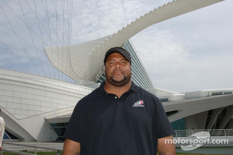Gilbert Brown de Milwaukee Mile