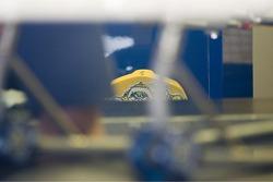 Etiqueta en máquina de MotoGP de Valentino Rossi