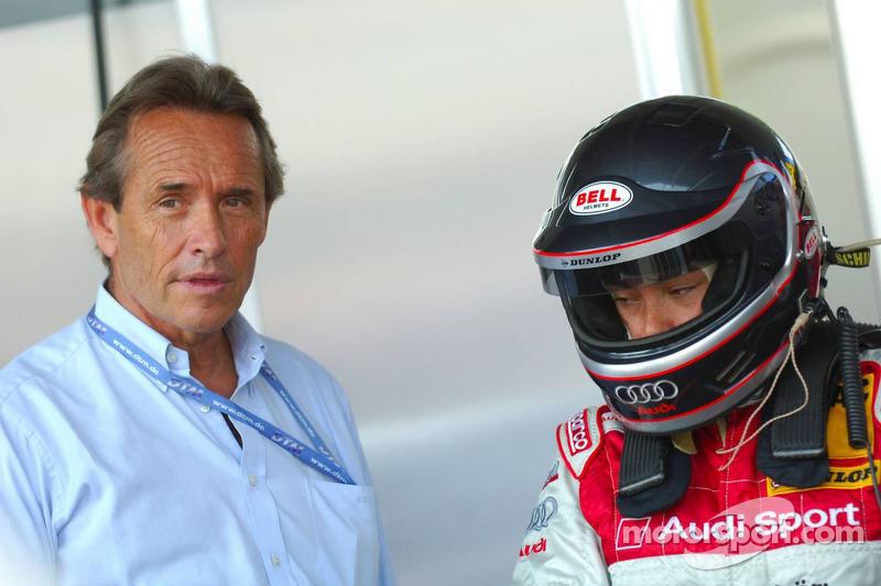 Vanina Ickx avec son père Jacky