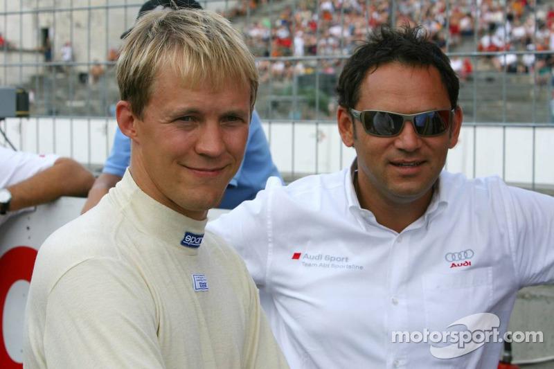 Mattias Ekström et Hans-Jurgen Abt