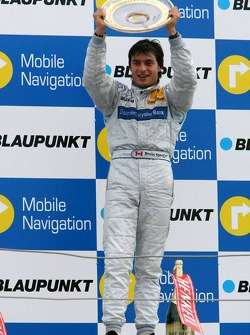 Podium: race winner Bruno Spengler