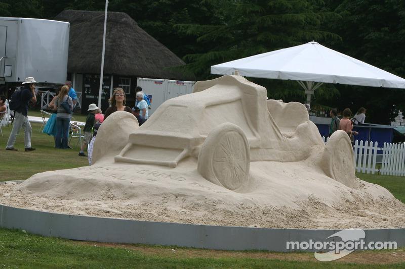 Sculpure de sable