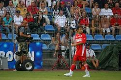 Evento de la UNESCO Juego del corazón, las superestrellas de F1 juegan contra las superestrellas RTL: camarógrafo