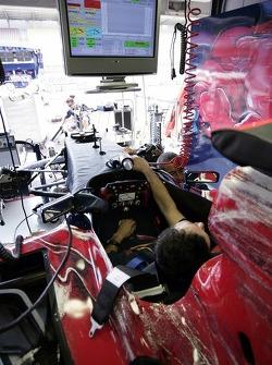 Scuderia Toro Rosso garage