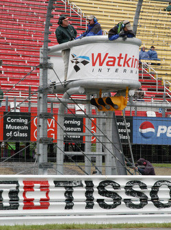The new starters stand at Watkins Glen