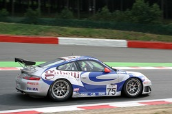 #75 Ebimotors Porsche 996 GT3 RSR: Emmanuel Collard, Luca Riccitelli, Romain Dumas