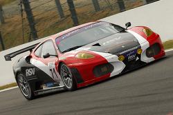 #71 RSV Motorsport SPA Ferrari 430 GT2 LM: Roland Severin, Domingo Romero, Michel Ligonnet, Peter Sundberg