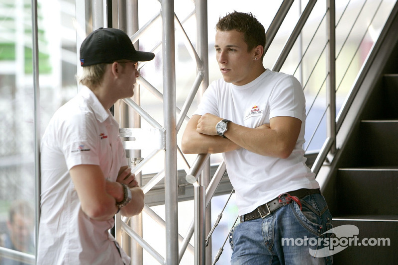 Scott Speed y Christian Klien