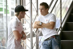 Scott Speed and Christian Klien