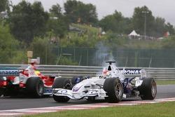 Robert Kubica and Ralf Schumacher