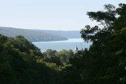 A view of Watkins Glen and Seneca Lake