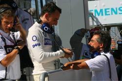 Robert Kubica and Dr. Mario Theissen
