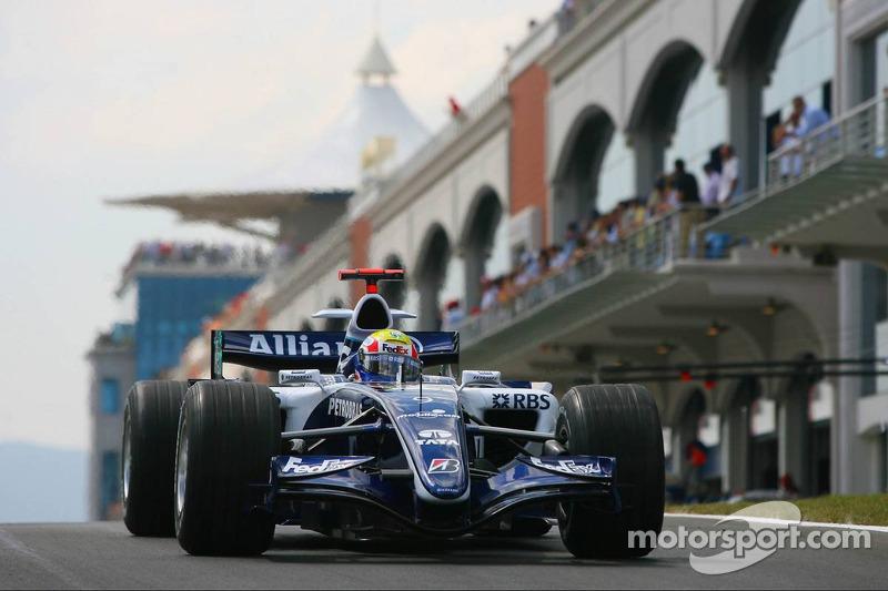 2006: Absturz in 2. Williams-Saison