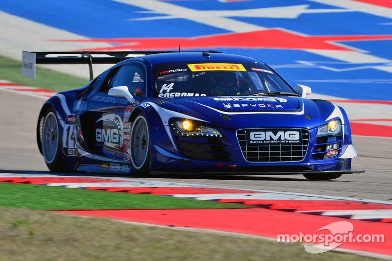 #14 GMG, Audi R8 LMS Ultra: James Sofronas