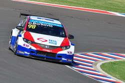 Dusan Borkovic, 本田思域 WTCC, Proteam Motorsport