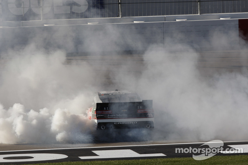 1. Austin Dillon, Richard Childress Racing, Chevrolet, feiert