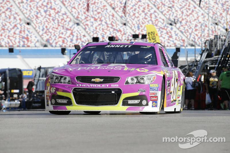 Michael Annett, HSCott Motorsports, Chevrolet
