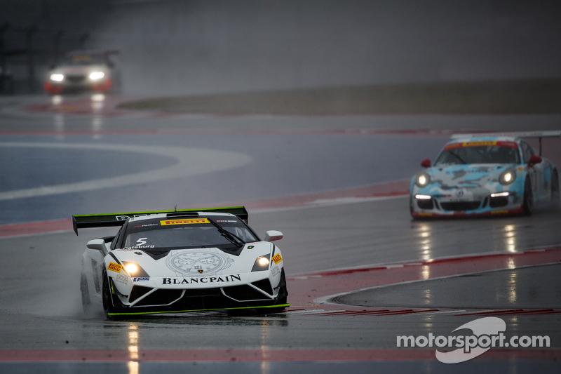 #25 Blancpain Racing Reiter Engineering Lamborghini Gallardo: Nicky Catsburg