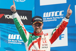 3. Tiago Monteiro, Honda Racing Team JAS, Honda Civic WTCC